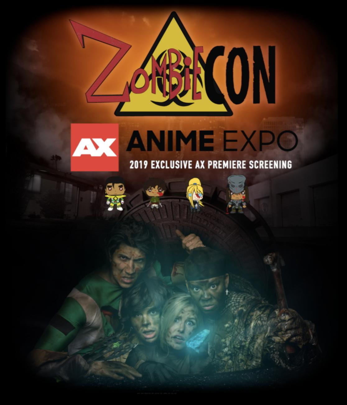 zombiecon AX Anime Expo 2019 INSTA TWITTER Announcement